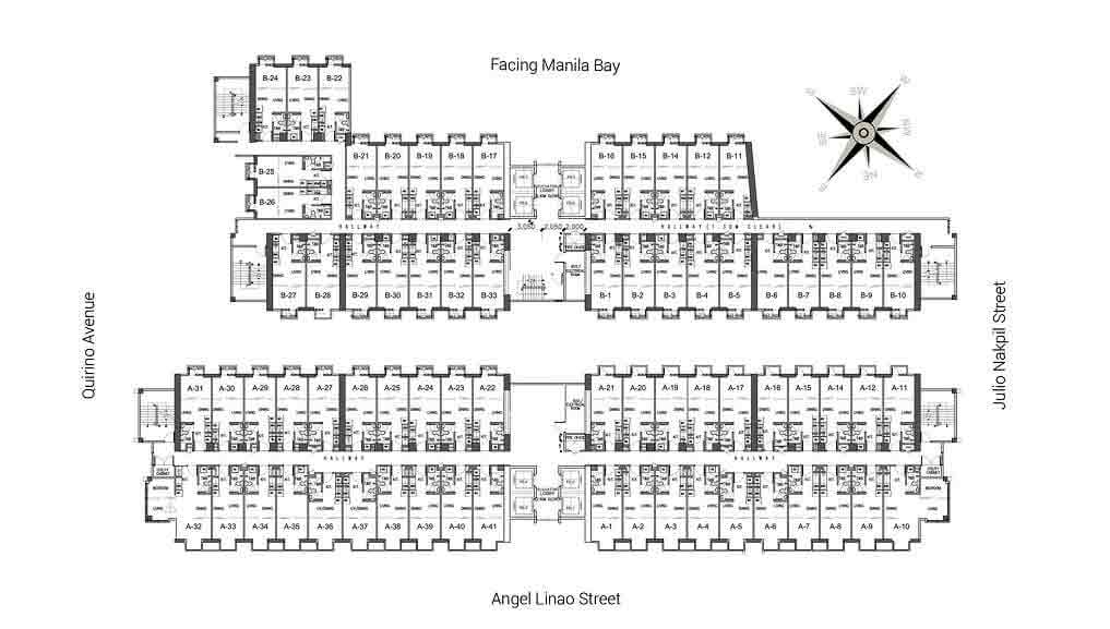 Victoria De Malate - Floor Plan
