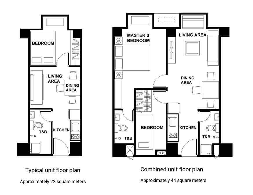 Victoria De Malate - Typical Floor Plan