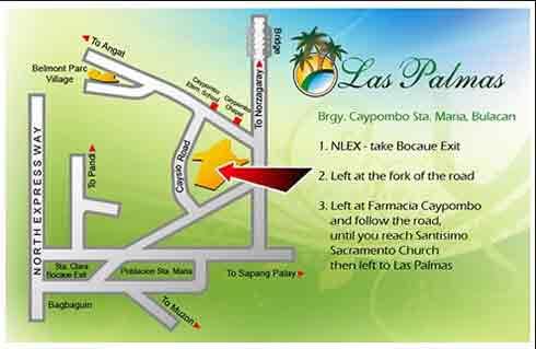 Las Palmas - Location & Vicinity