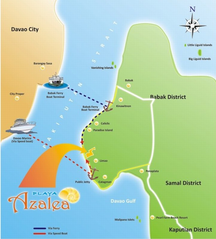 Playa Azalea - Location & Vicinity