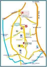 North Dasma Garden Villas - Location & Vicinity