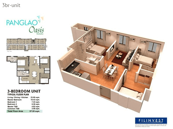 Panglao Oasis - 3 Bedroom Unit