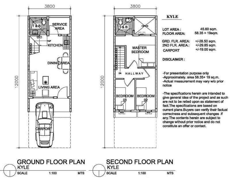 Arezzo Place - Kyle Floor Plan