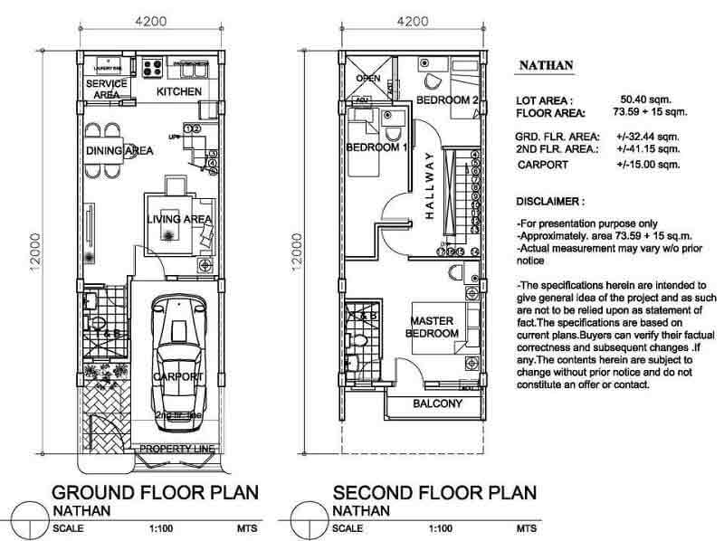 Arezzo Place - Nathan Floor Plan