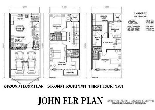 Arezzo Place - John Floor Plan