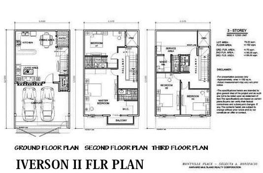 Arezzo Place - Iverson Floor Plan