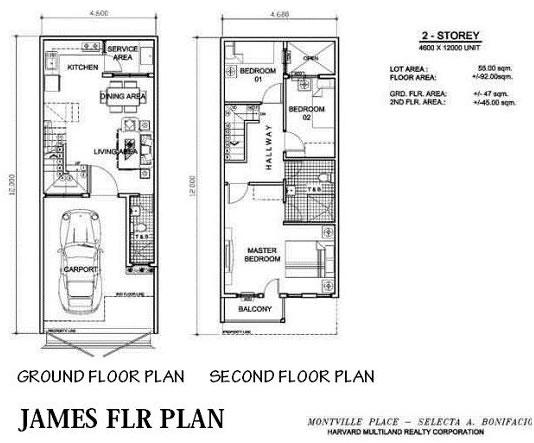 Arezzo Place - James Floor Plan