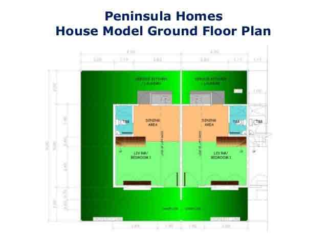 Peninsula Homes - Ground Floor Plan