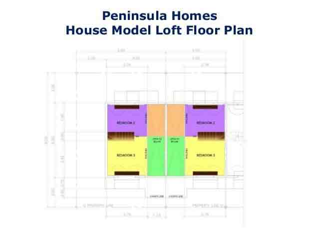 Peninsula Homes - Loft Floor Plan