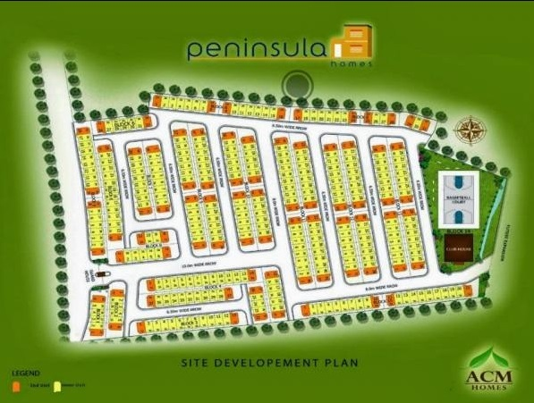 Peninsula Homes - Site Development Plan
