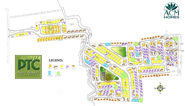 Pacific Terraces North - Site Development Plan