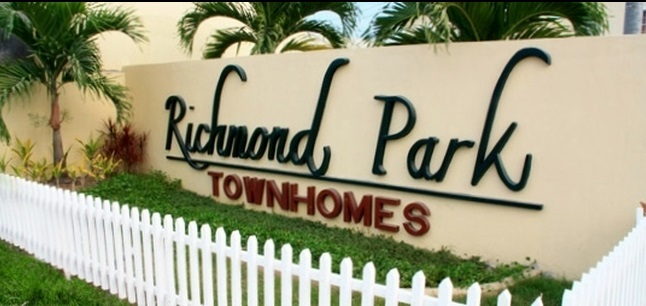 Richmond Park Townhomes - Main Entrance Gate