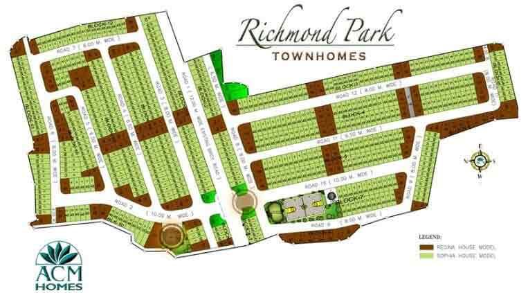 Richmond Park Townhomes - Site Development Plan