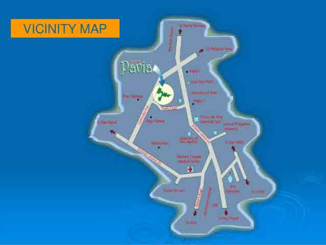 DECA Homes Iloilo Pavia - Location & Vicinity