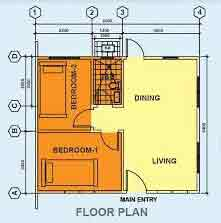 Deca Homes Esperanza - Floor Plan