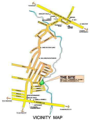 RCD BF Homes Paranaque - Location Map