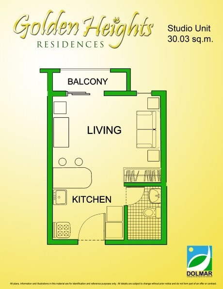 Golden Heights - Studio Unit