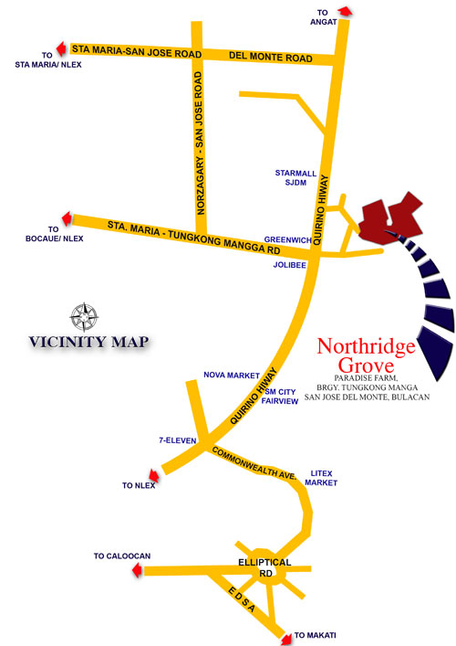 Northridge Grove - Location & Vicinity