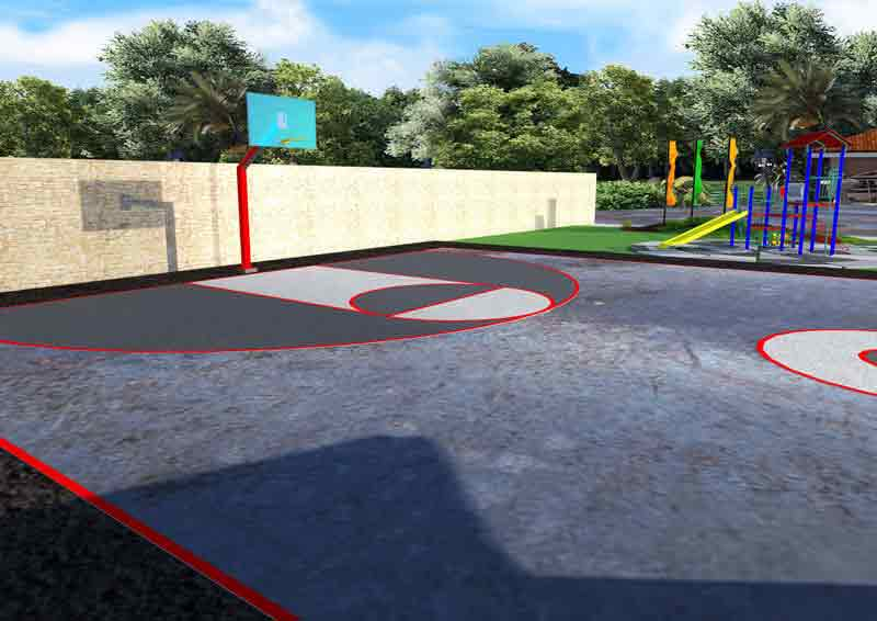 Northridge View - Basketball Court