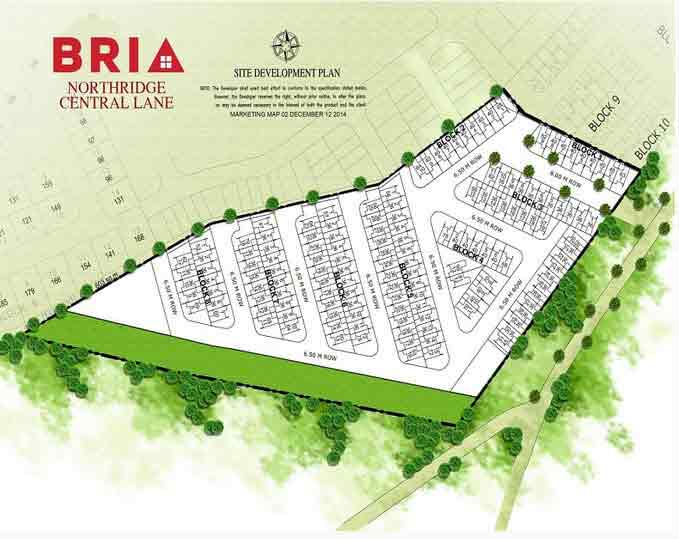 Northridge View - Site Development Plan