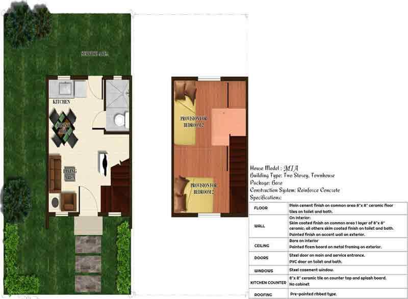 Bria Homes Teresa - Floor Plan