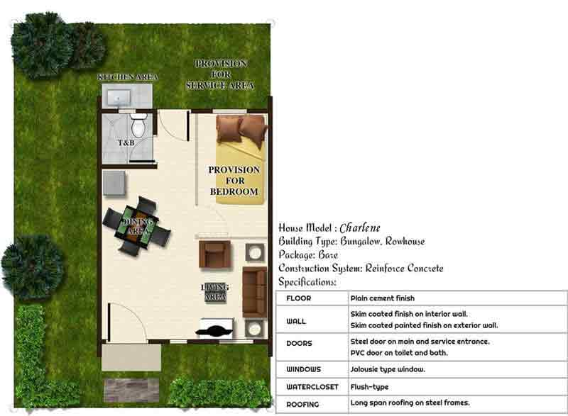 Carissa Homes East 2A - Floor plan