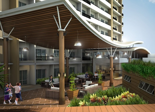 River Green Residences - Covered Lounge
