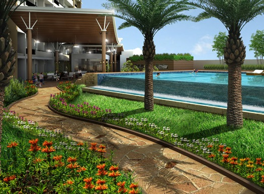 River Green Residences - Pathway