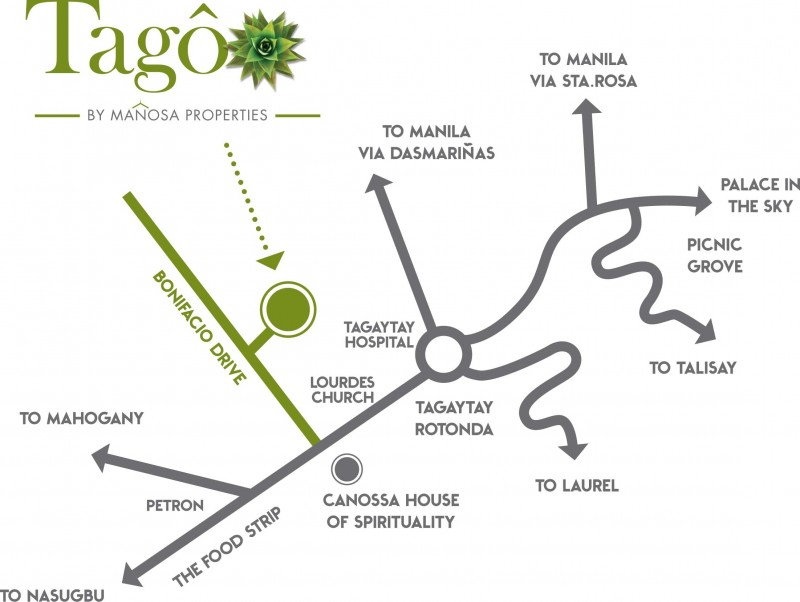 Tago - Location Map