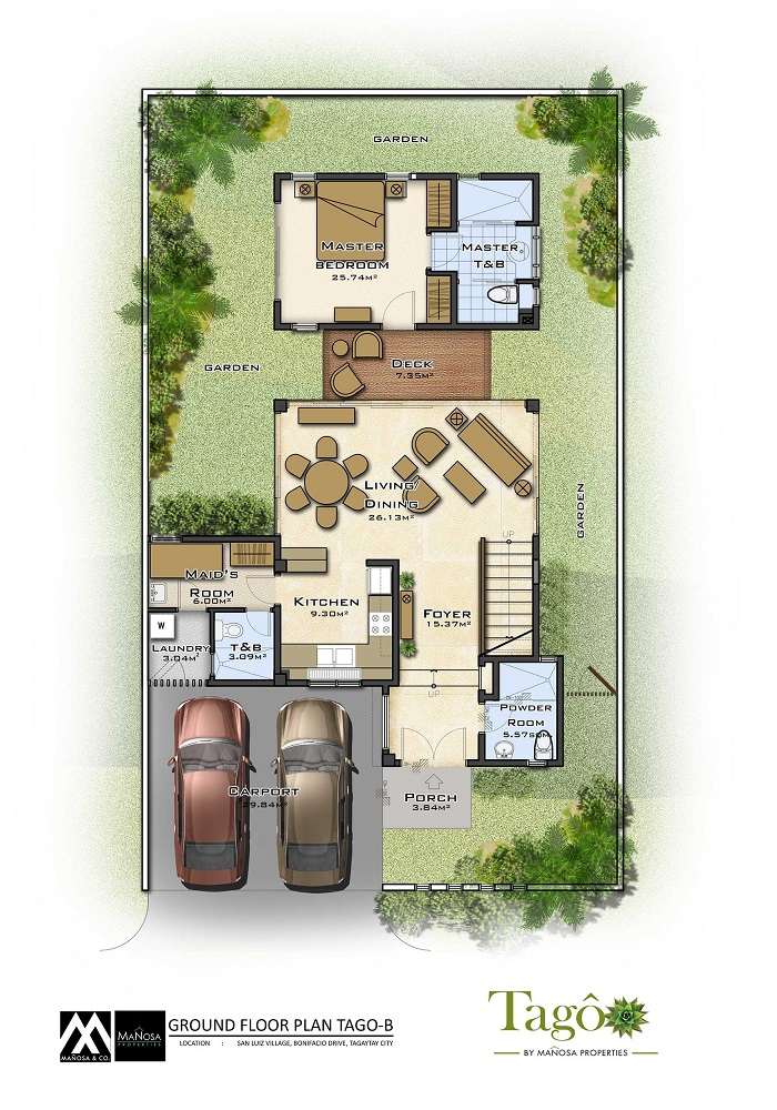 Tago - Adobe - Ground Floor Plan