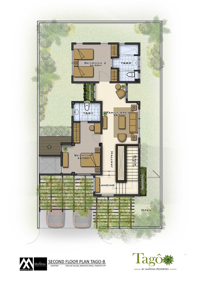 Tago - Adobe - Second Floor Plan