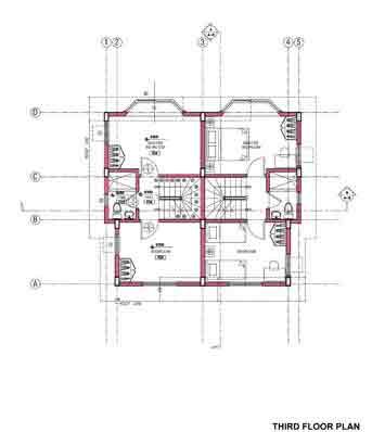 Casa california exclusive bf resort house lot in bf for Real estate floor plan pricing