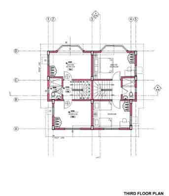 Casa California Exclusive BF Resort - Third Floor Plan