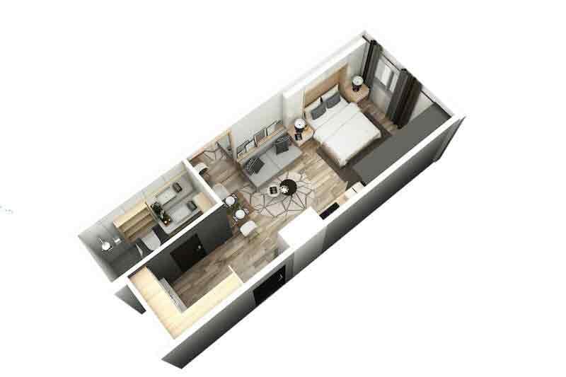 Pixel Residences - Studio Unit