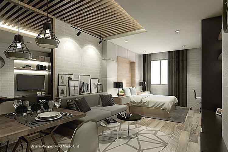 Pixel Residences - Living Area
