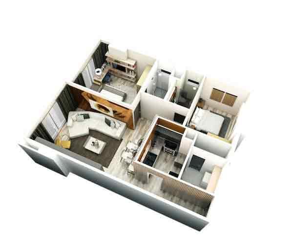 Pixel Residences - 2 Bedroom Unit