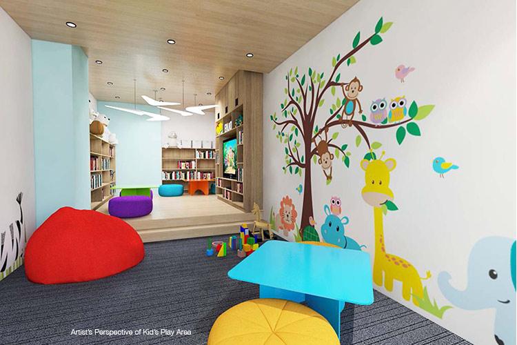 Pixel Residences - Kids Playing Area