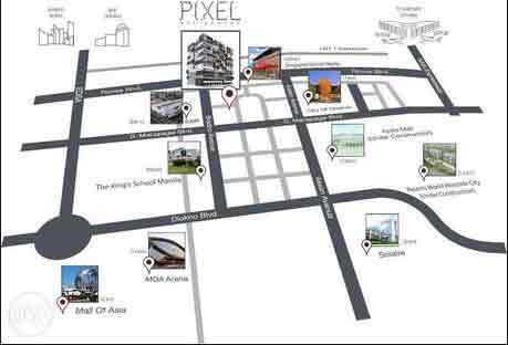 Pixel Residences - Location Map