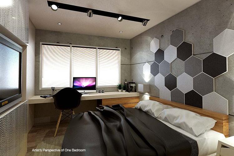 Pixel Residences - Master Bedroom