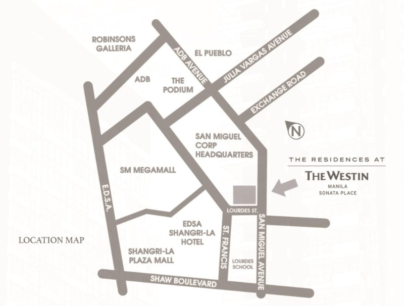 The Residences At The Westin - Location & Vicinity