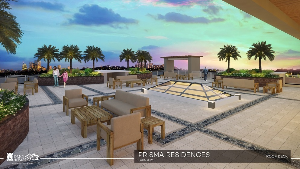 Prisma Residences - Roof Deck