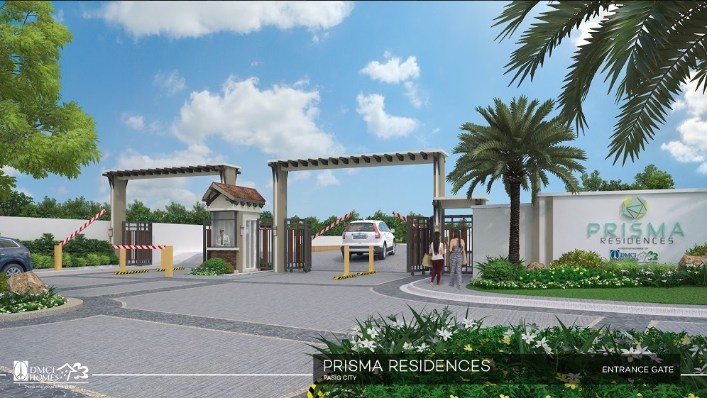 Prisma Residences - Main Entrance Gate