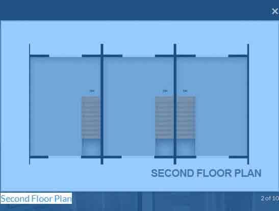 Morgan Residences - Second Floor Plan