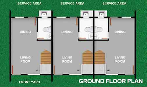 Morgan Residences - Ground Floor Plan