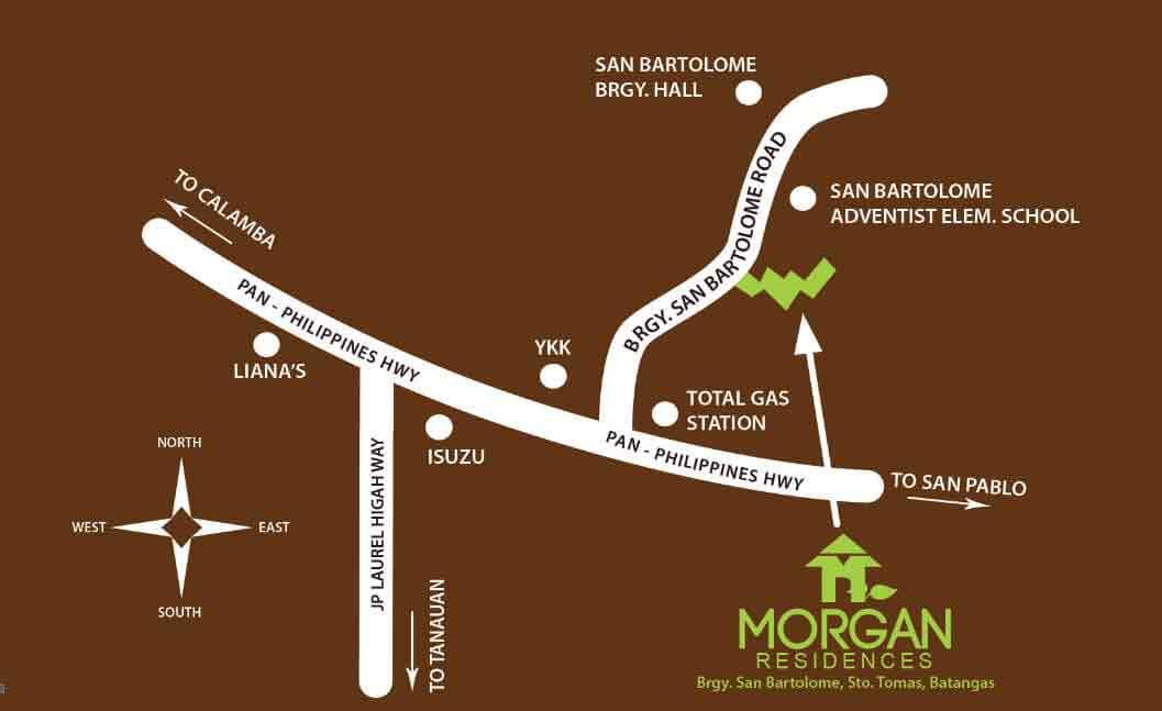 Morgan Residences - Location & Vicinity