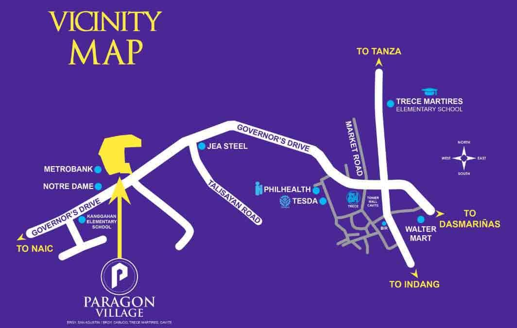 Paragon Village - Location & Vicinity