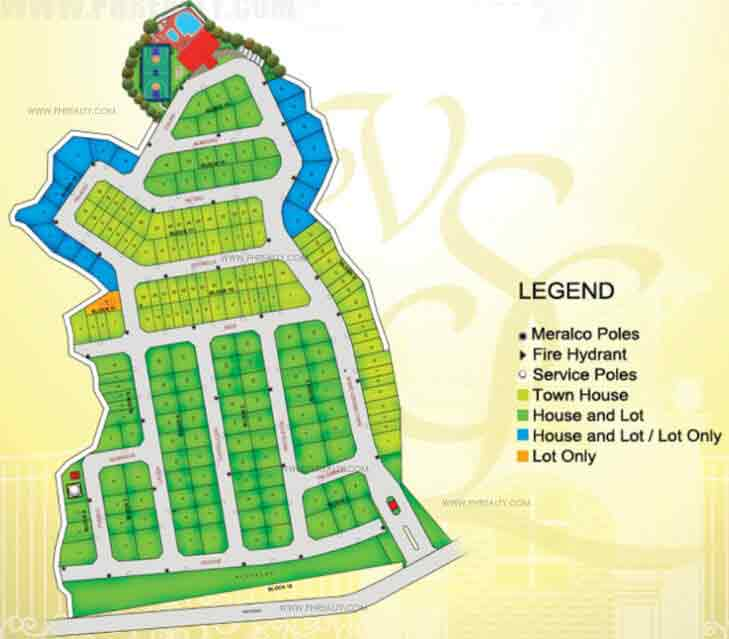 Villa San Lorenzo - Site Development Plan