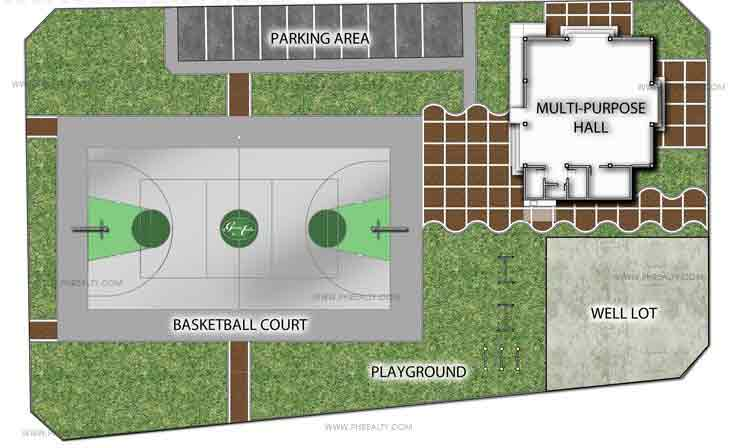 Gran Avila - Amenities Plan