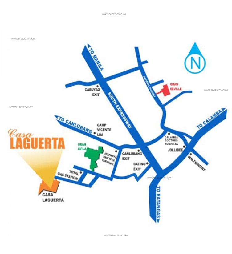Casa Laguerta - Location and Vicinity