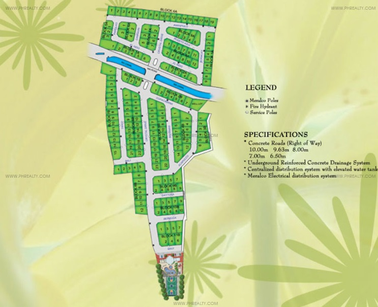 Crystal Place - Site Development Plan